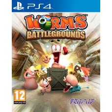 Worms Battlegrounds [PS4, английская версия]