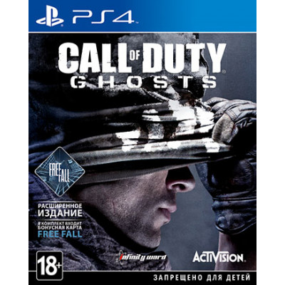 Call of Duty: Ghosts. Free Fall Edition [PS4, русская документация]
