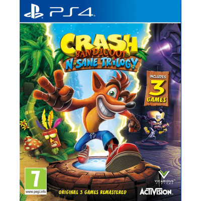 Crash Bandicoot N'sane Trilogy [PS4, английская версия]
