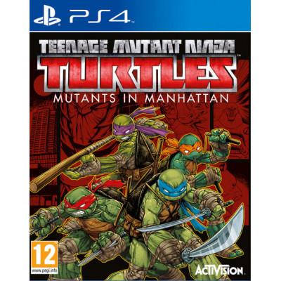 Teenage Mutant Ninja Turtles: Mutants in Manhattan [PS4, английская версия]