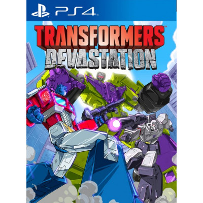Transformers: Devastation [PS4, русская документация]
