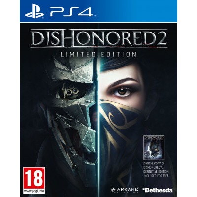 Dishonored 2. Limited Edition [PS4, русская версия]