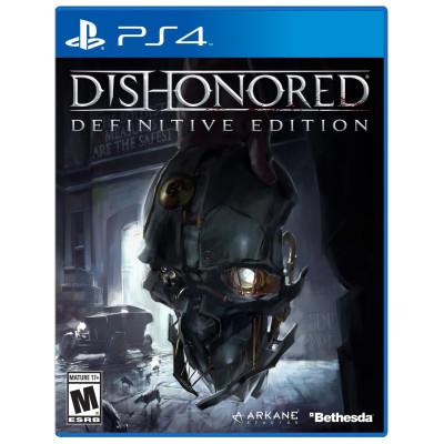 Игра для PlayStation 4 Dishonored. Definitive Edition (русские субтитры)
