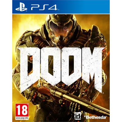 Игра для PlayStation 4 DOOM (русская версия)