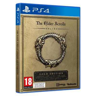 Игра для PlayStation 4 The Elder Scrolls Online. Gold Edition (английская версия)