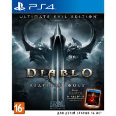 Diablo III: Reaper of Souls. Ultimate Evil Edition [PS4, русская версия]
