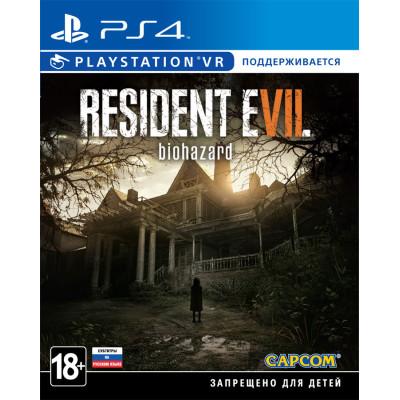 Resident Evil 7: Biohazard (поддержка VR) [PS4, русские субтитры]