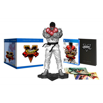 Street Fighter V. Collector's Edition [PS4, английская версия]