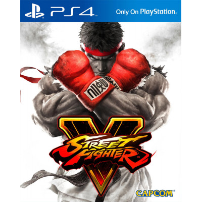 Игра для PlayStation 4 Street Fighter V (русские субтитры)