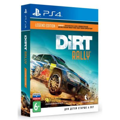 Dirt Rally Legend Edition [PS4, русская версия]