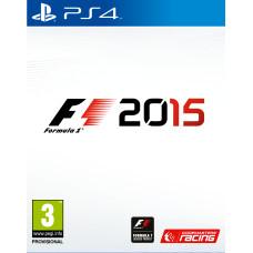 F1 2015 [PS4, русская документация]