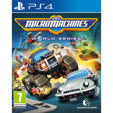 Micro Machines World Series [PS4, английская версия]