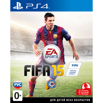 FIFA 15 [PS4, русская версия]