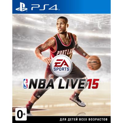 NBA Live 15 [PS4, русская документация]
