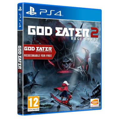 God Eater 2: Rage Burst [PS4, русские субтитры]