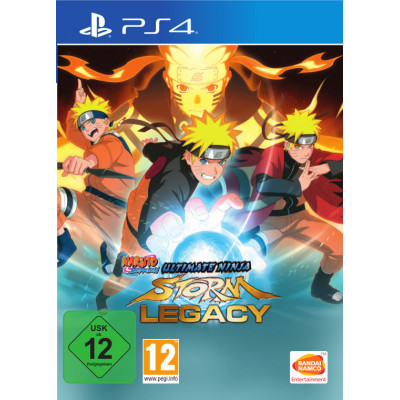 Naruto Shippuden Ultimate Ninja Storm. Legacy Edition [PS4, русские субтитры]