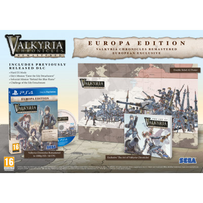 Valkyria Chronicles Remastered. Europa Edition [PS4, английская версия]