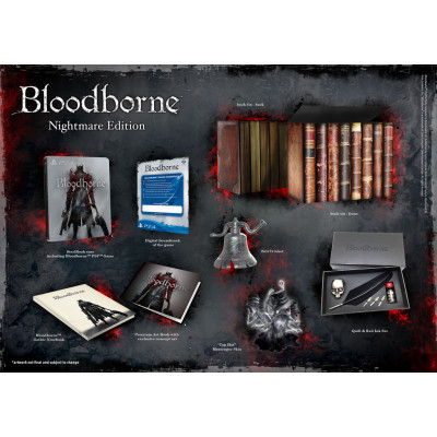 Bloodborne: Порождение крови. Nightmare Edition [PS4, русские субтитры]