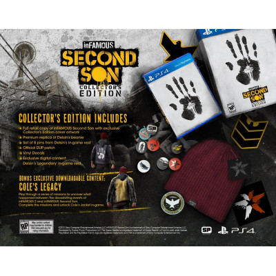 inFAMOUS: Second Son. Collector's Edition [PS4, американская версия]