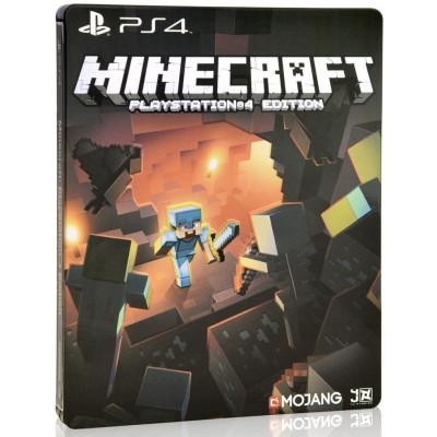 Minecraft Playstation 4 Edition. Steelbook Edition [PS4, европейская версия]
