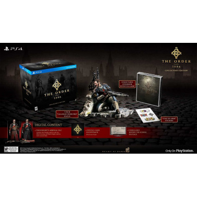 The Order: 1886. Collector's Edition [PS4, американская версия]