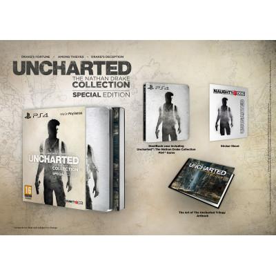 Uncharted: Натан Дрейк Коллекция. Специальное издание [PS4, русская версия]