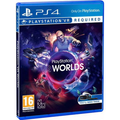 PlayStation VR Worlds (только для VR) [PS4, русская версия]