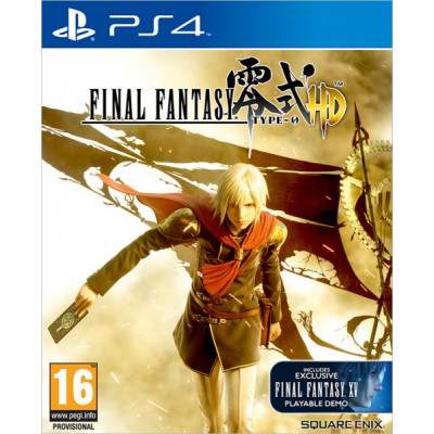 Final Fantasy Type-0 HD [PS4, английская версия]