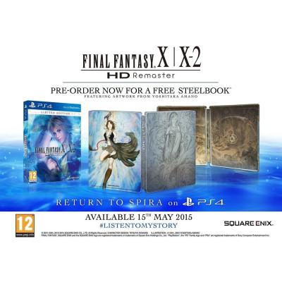 Final Fantasy X/X-2 HD Remaster. Steelbook Edition [PS4, европейская версия]