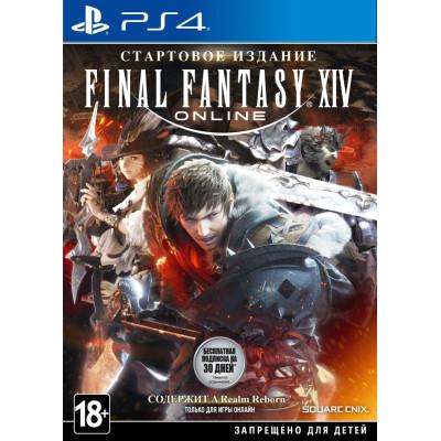 Игра для PlayStation 4 Final Fantasy XIV. Стартовое издание (английская версия)