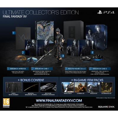 Final Fantasy XV. Ultimate Collector's Edition [PS4, русские субтитры]