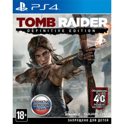 Tomb Raider. Definitive Edition [PS4, русская версия]