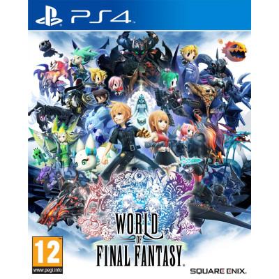 World of Final Fantasy [PS4, английская версия]