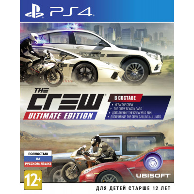 The Crew. Ultimate Edition [PS4, русская версия]