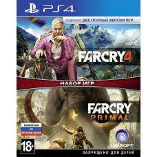 Комплект «Far Cry 4» + «Far Cry Primal» [PS4, русская версия]