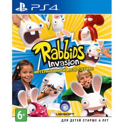 Rabbids Invasion [PS4, русская версия]