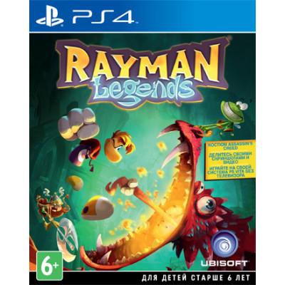 Rayman Legends [PS4, русская документация]