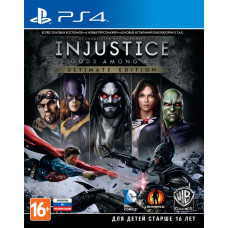 Injustice: Gods Among Us. Ultimate Edition [PS4, русские субтитры]