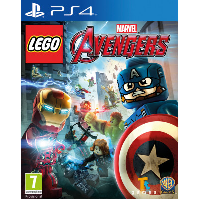 Игра для PlayStation 4 LEGO Marvel Мстители (русские субтитры)
