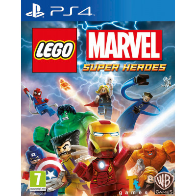 LEGO Marvel Super Heroes [PS4, русская документация]