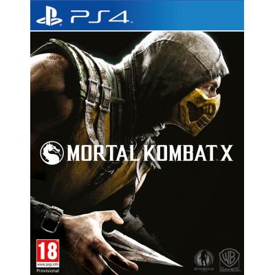 Mortal Kombat X [PS4, русские субтитры]