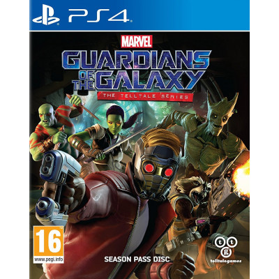 Marvel's Guardians of the Galaxy: The Telltale Series [PS4, русские субтитры]