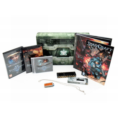Starcraft II: Wings of Liberty. Collector's Edition [PC, европейская версия]