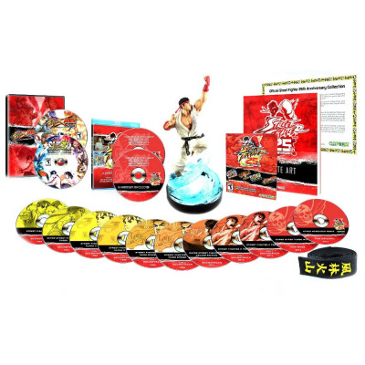 Street Fighter 25th Anniversary. Collector's Set [PS3,Xbox 360, американская версия]