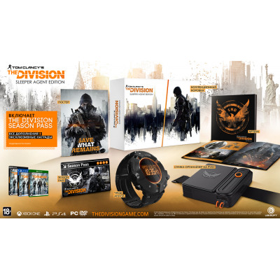 Tom Clancy's The Division. Sleeper Agent Edition [PS4, русская версия]