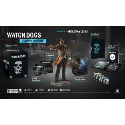 Watch_Dogs. Limited Edition [PS4, американская версия]