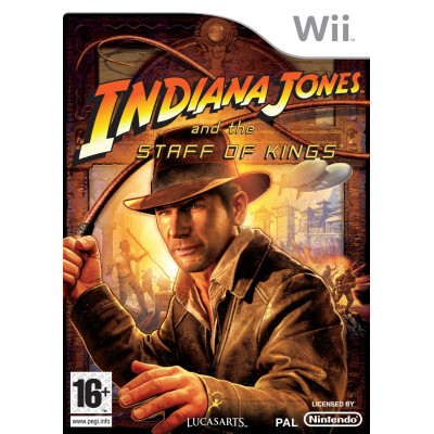 Indiana Jones and the Staff of Kings [Wii, английская версия]