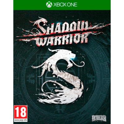 Shadow Warrior [Xbox One, русские субтитры]