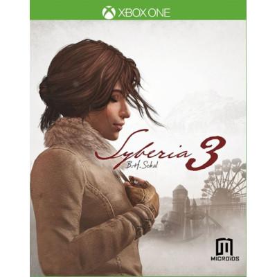 Сибирь 3 [Xbox One, русская версия]