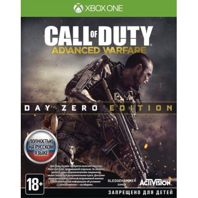 Игра для Xbox One Call of Duty: Advanced Warfare. Day Zero Edition (русская версия)
